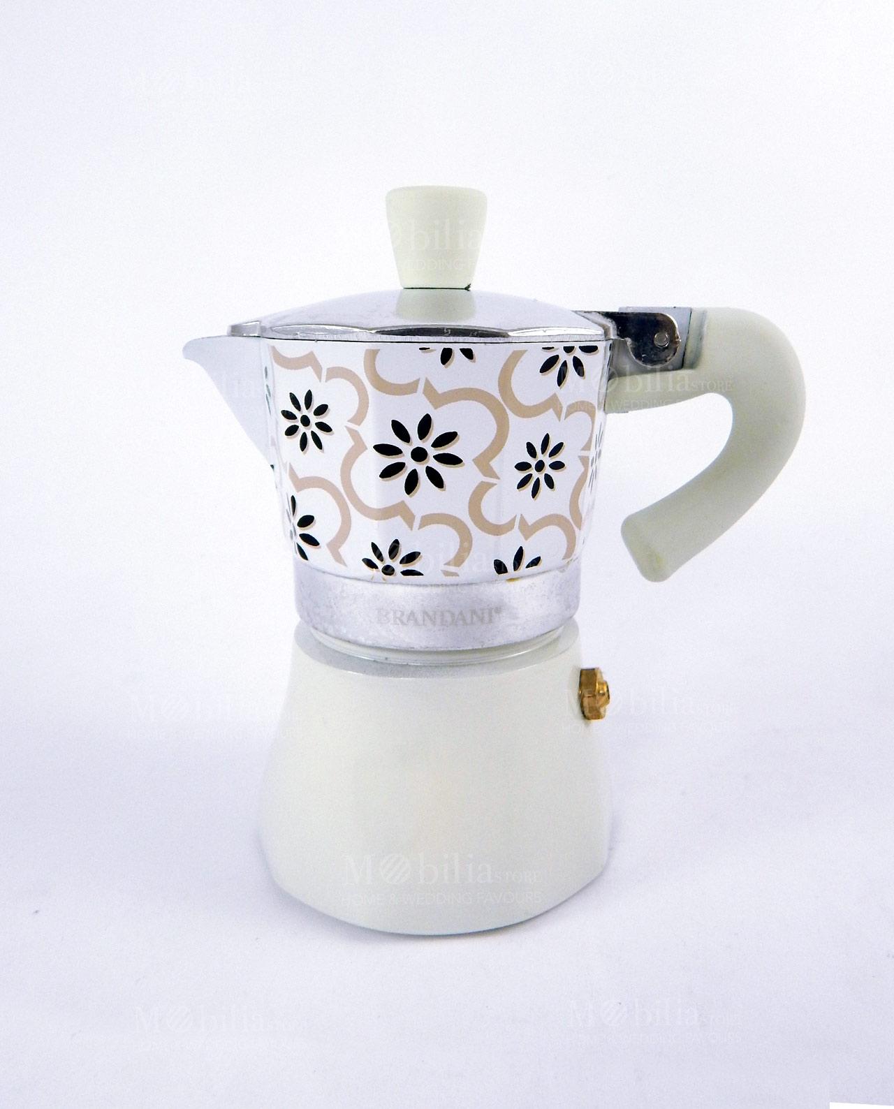 Bomboniere Matrimonio Caffettiera.Bomboniera Caffettiera Collezione Alhambra Varie Misure Brandani