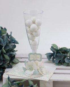 flute con confetti con fiori carta linea sweet memory rdm design
