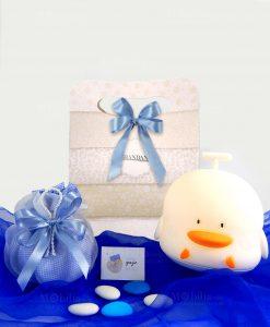lampada duck touch cromoterapia con sacchetto con bag brandani