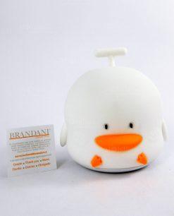 lampada duck touch silicone brandani