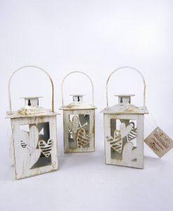 lanterna batticuore metallo assortita nel decoro brandani