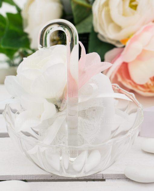 ombrellino vetro trasparente grande linea ombrellini ad emozioni