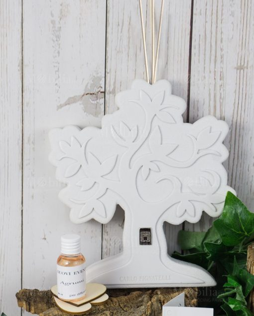 profumatore albero della vita bianco pignatelli linea eden