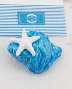 profumatore ambiente conchiglia porcellana capodimonte linea oceania rdm design