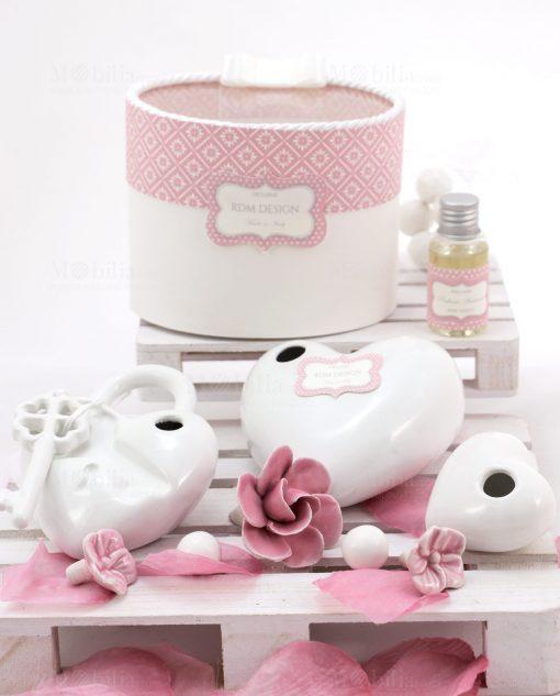 profumatore cuore varie misure linea blush rdm design
