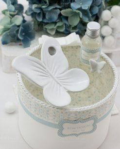 profumatore farfalla porcellana bianca linea sweet memory rdm design