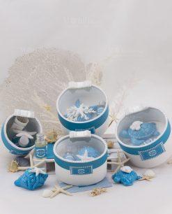 profumatori tea mare porcellana capodimonte linea oceania rdm design