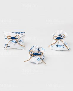 sacchetti vari modelli con pesciolini blu linea alice ad emozioni