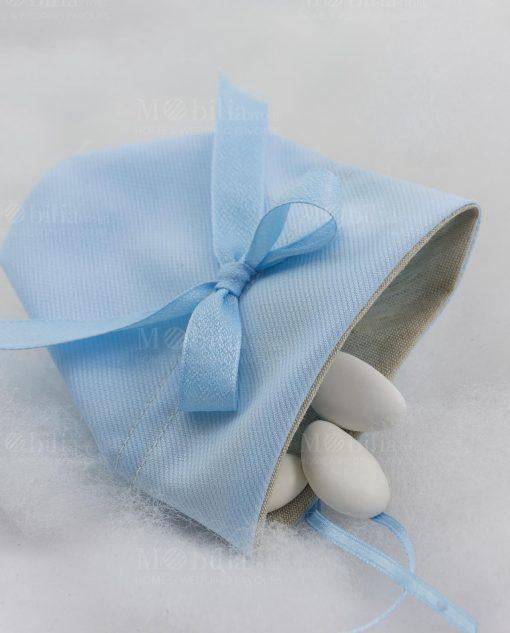 sacchetto baby balloon azzurro ad emozioni