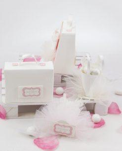 scatoline portaconfetti con confetti linea prima ballerina rdm design