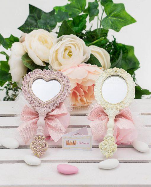 specchietti con sacchetti linea princess ad emozioni