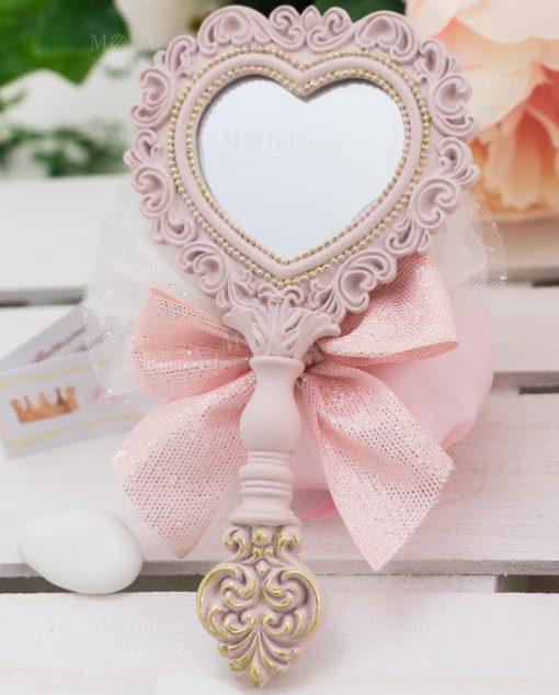 specchietto con sacchetto linea princess ad emozioni