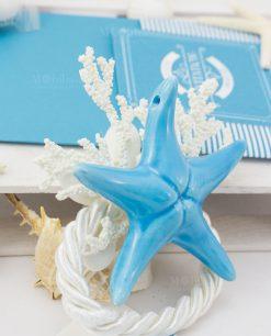stella marina legatovagliolo segnaposto linea oceania rdm design