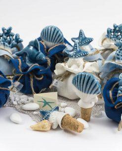 tappi porcellana tema mare linea oceano ad emozioni