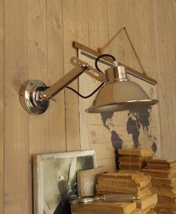 applique da parete metallo modello lounge club orchidea milano