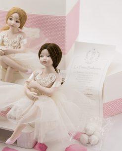 bambolina grande mora porcellana capodimonte certificato autenticità linea prima ballerina rdm design