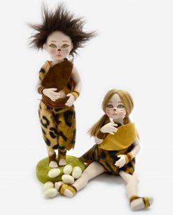 bambolina soggetti assoriti linea antenati rdm design