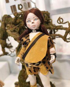 bambolina vestito primitivo linea gli antenati rdm design