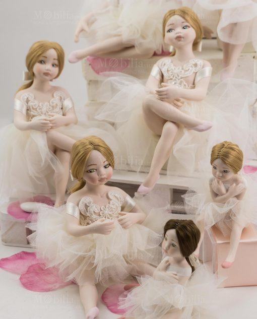 bamboline grandi e piccole linea prima ballerina rdm design