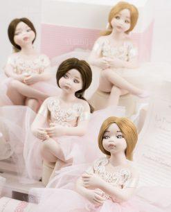bamboline grandi porcellana capodimonte linea prima ballerina rdm design