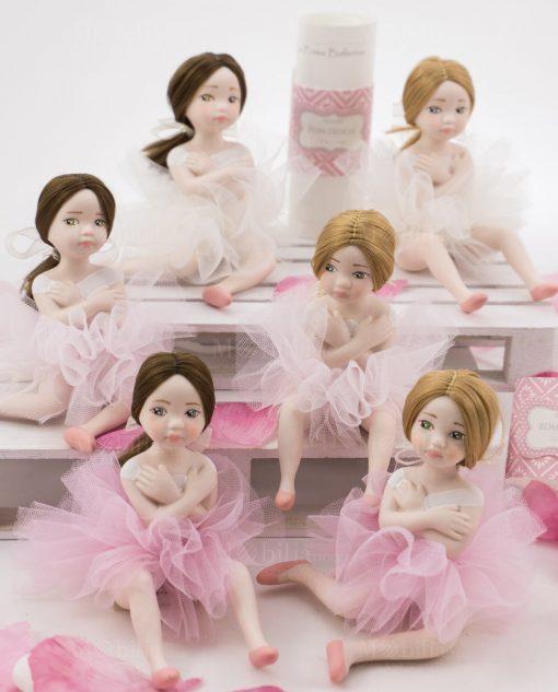 bamboline piccole porcellana capodimonte linea prima ballerina rdm design