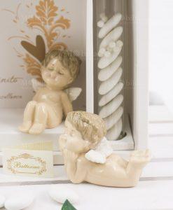bomboniera angioletto porcellana linfinito