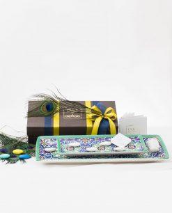 bomboniera lusso svuotatasche grande e piccolo art collection linea azulejos emò