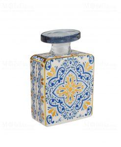bottiglia 240 ml quadrata linea gold modello gianna baci milano