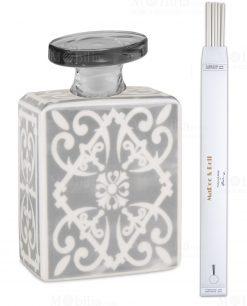bottiglia rettangolare diffusore grey magnum da 35 lt linea sapori e profumi baci milano