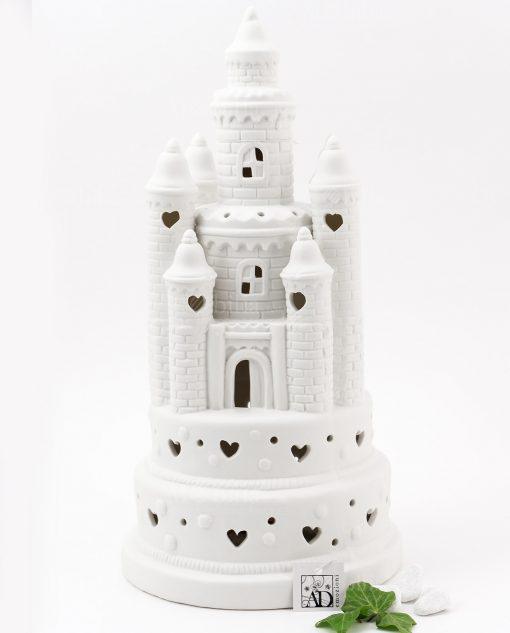 castello led porcellana grande linea princess ad emozioni