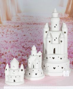 castello led porcellana varie misure linea princess ad emozioni