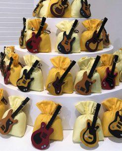 chitarra su sacchetto colori assortiti linea music rdm design