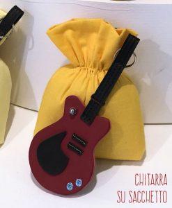 chitarra su sacchetto linea music rdm design