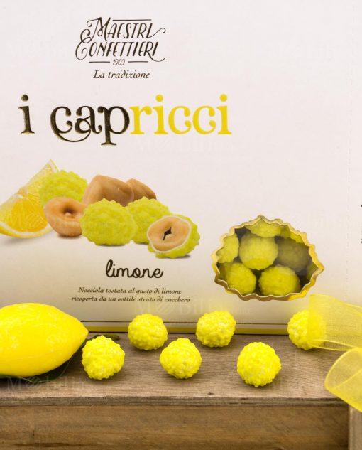 confetti capricci al limone con nocciola