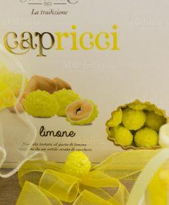 confetti gialli capricci limone con nocciola