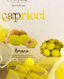 confetti gialli capricci limone con nocciola riccetti
