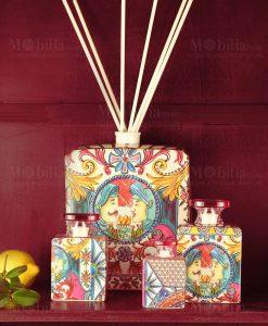 diffusori di fragranza linea baroque and rock sicily pink baci milano