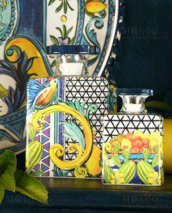 diffusori fragranza linea baroque and rock sicily blu baci milano
