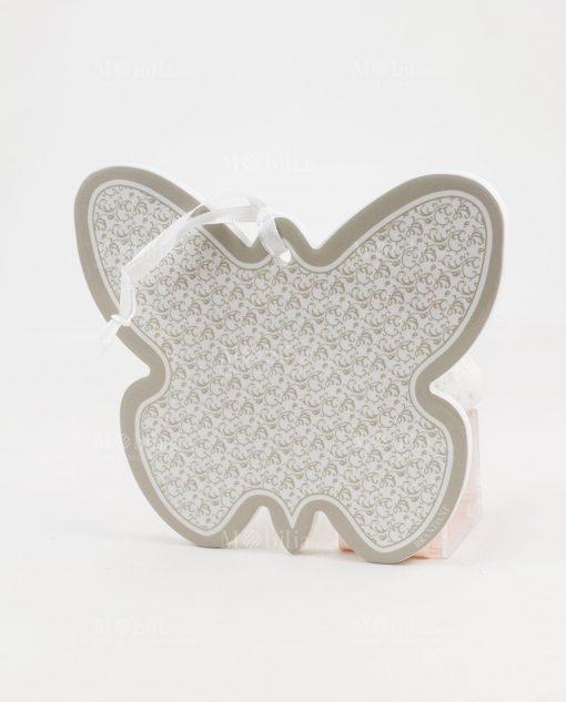 farfalla ricciolo ceramica brandani