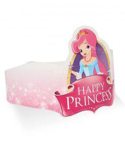 fascia cartoncino rosa decoro happy princess