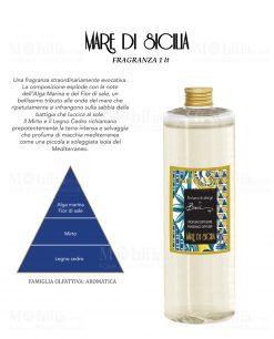 fragranza da 1 LT per diffusore linea maroc e roll fragranza mare di siclia baci milano