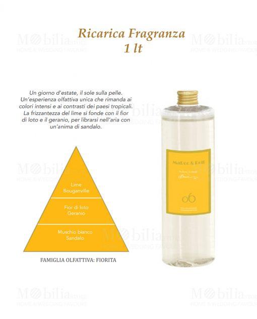 fragranza gialla 1 lt baci milano