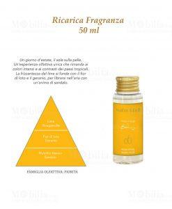 fragranza giallo 50 ml baci milano