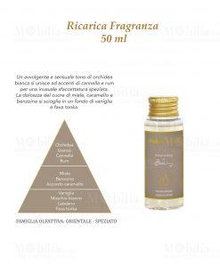 fragranza tortora 50 ml baci milano