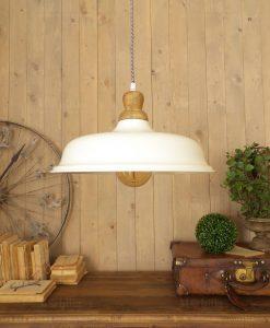 lampada bianca a sospensione orchidea milano