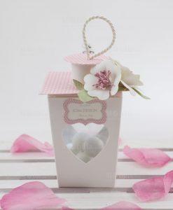 lanterna con cuore e tetto rosa linea blush rdm design