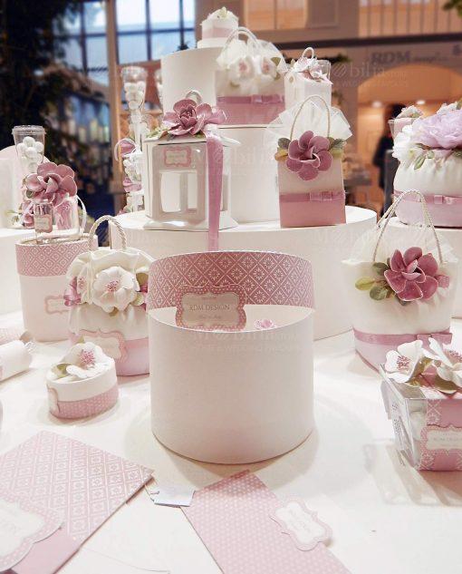 linea blush rdm design fiori rosa porcellana capodimonte