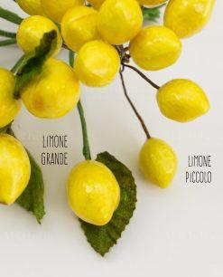 mazzolino limone grande e piccolo
