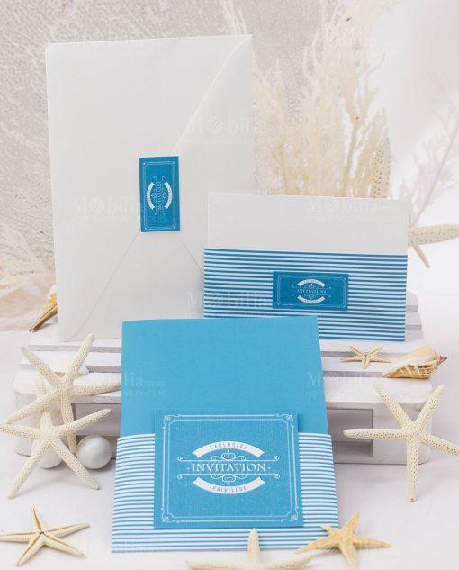 partecipasione nozze linea oceania rdm design