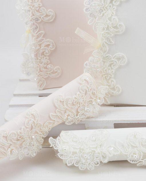 partecipazione nozze linea forever rdm design con ricamo